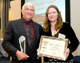 Steve Ridgway at the Brewing Business Awards 2008 SIBA