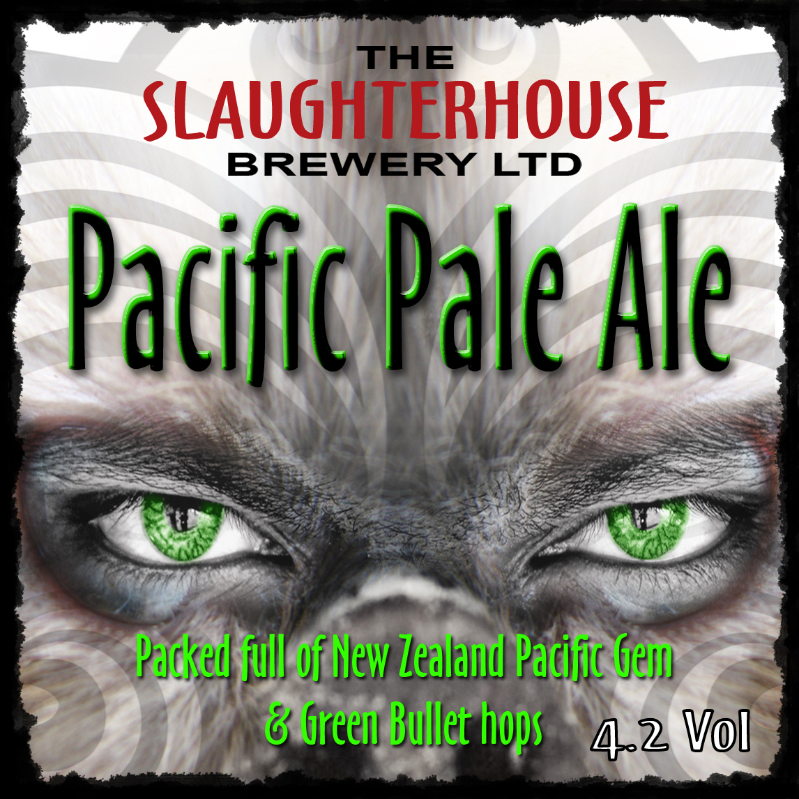 Pacific Pale Ale Slaughterhouse Brewery