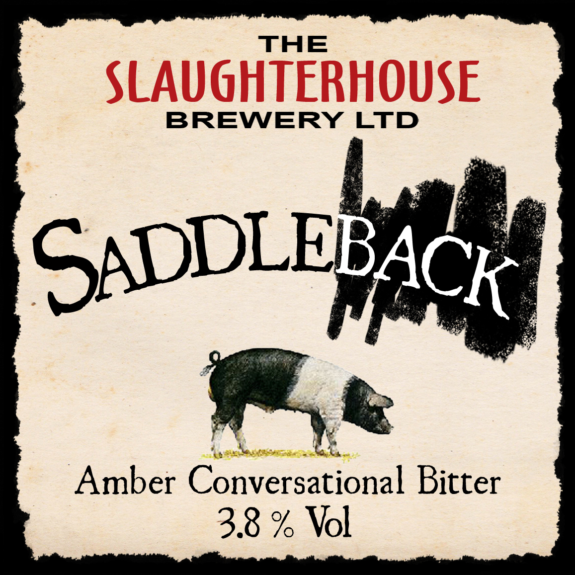 Saddleback Best Bitter from Slaughterhouse Brewery