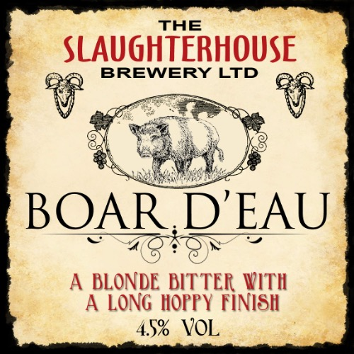 Boar Déau Beer Slaughterhouse Brewery
