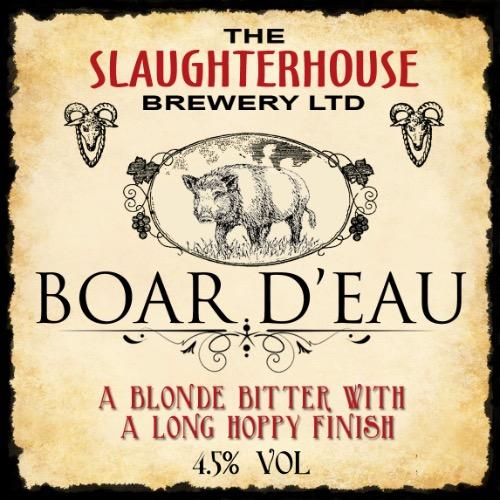 Boar Déau Beer Slaughterhouse Brewery