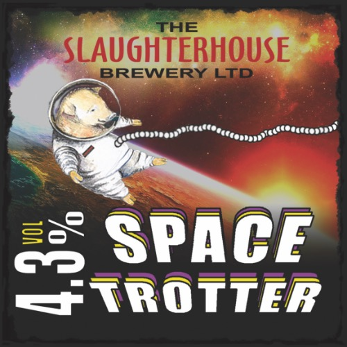 Space Trotter Ale 4.3% Vol Slaughterhouse Brewery