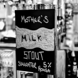 Milk Stout by slaughterhouse brewery