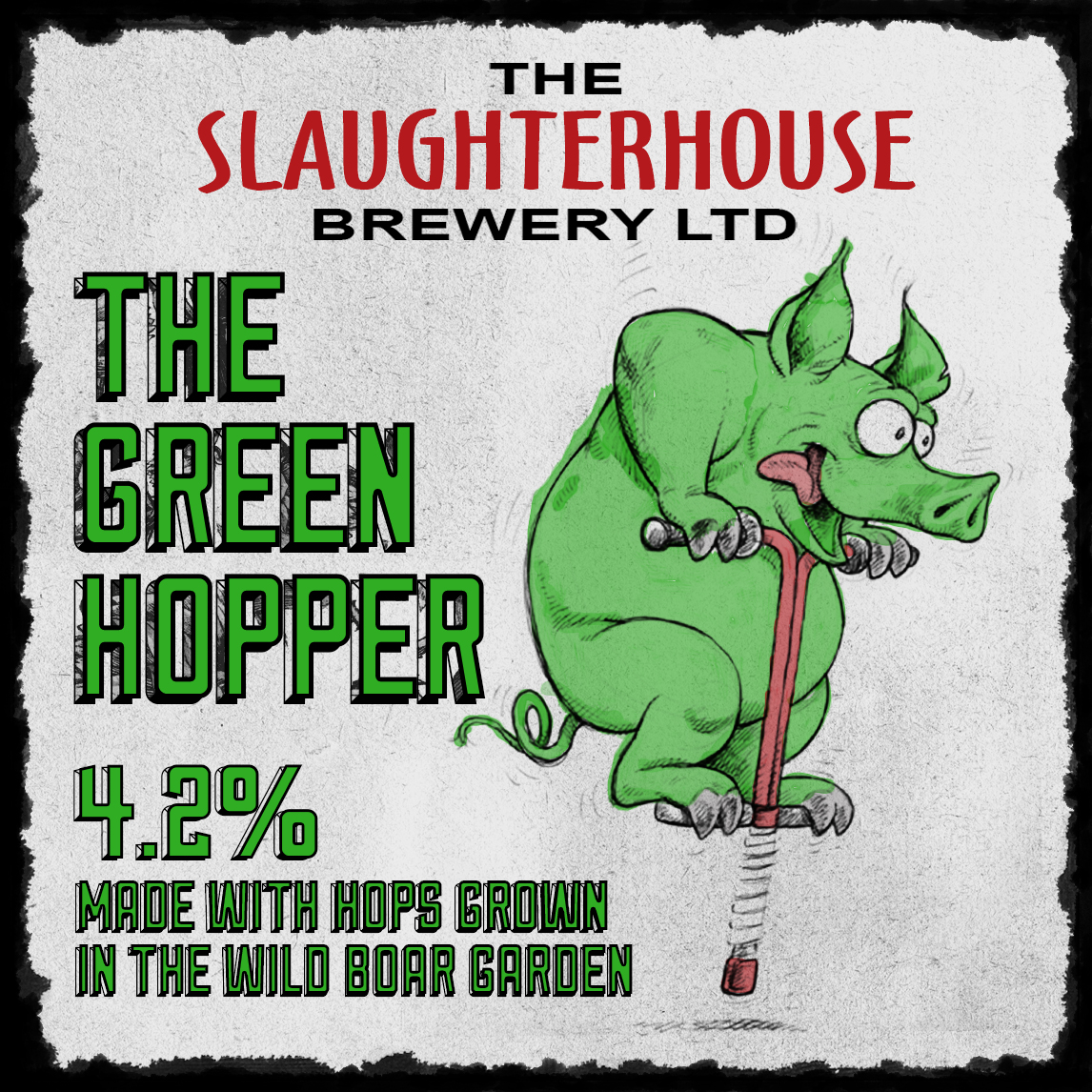 GreenHopper 4.2% Slaughterhouse Brewery