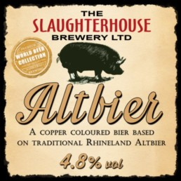 Alt Bier from Slaughterhouse Brewery Warwick