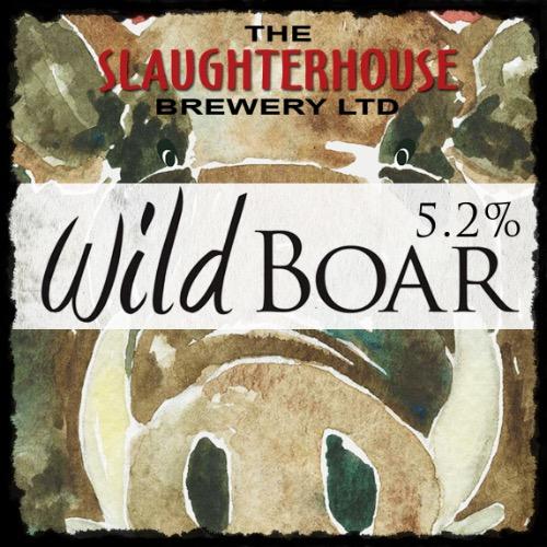 Wild Boar Ale. 5.2% Vol Slaughterhouse Brewery Warwick