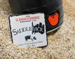 Saddleback Bitter from Slaughterhouse Brewery Warwick