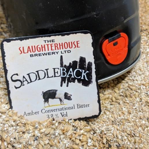 Saddleback Bitter from Slaughterhouse Brewery Warwick