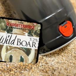 Wild Boar Bitter from Slaughterhouse Brewery