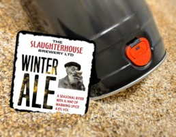 Winter Ale Bitter from Slaughterhouse Brewery