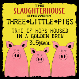 Three Little Pigs pump clip